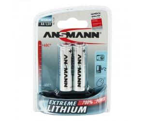 Lithium Batterie Mignon AA LR6 2er Blister 1,5V-Mignon/Lith/2