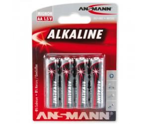 Alkaline Batterie AA LR6 4er Blister 1,5V-Mignon/Alka/4