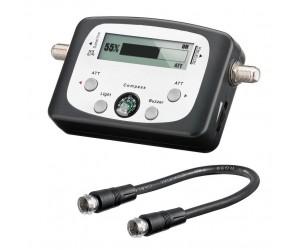 SAT-Finder digital 52~60dB LCD-Anzeige Signal Kompass