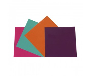 Farbfolienset-Set2 20,3x20,3cm für Lichtstrahler