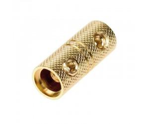 TMB-20 Kabelverbinder vergoldet für Kabel bis 20mm²