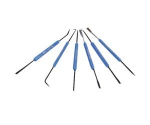 Lötarbeitsbesteck zur Platinenbearbeitung usw. 6-teilig Löt-Besteck