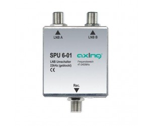 Axing® SPU 6-01 SAT-Koaxialrelais SAT-LNB22Khz
