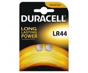 Duracell® 2x Knopfzelle Alkali Mangan 1,5V A76 V13GA LR44/2