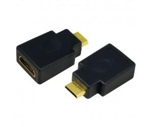 LogiLink® Adapter HDMI->Mini-HDMI HDMI/mini-HDMI